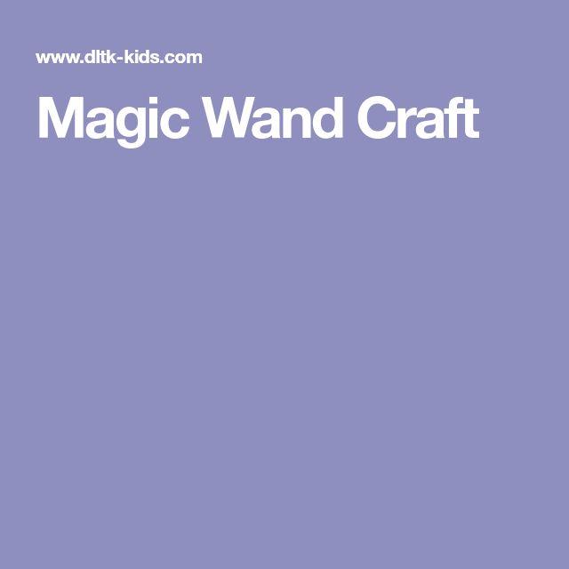 Magic Wand Craft