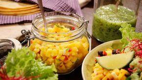 Mangosalsa med lime och chili