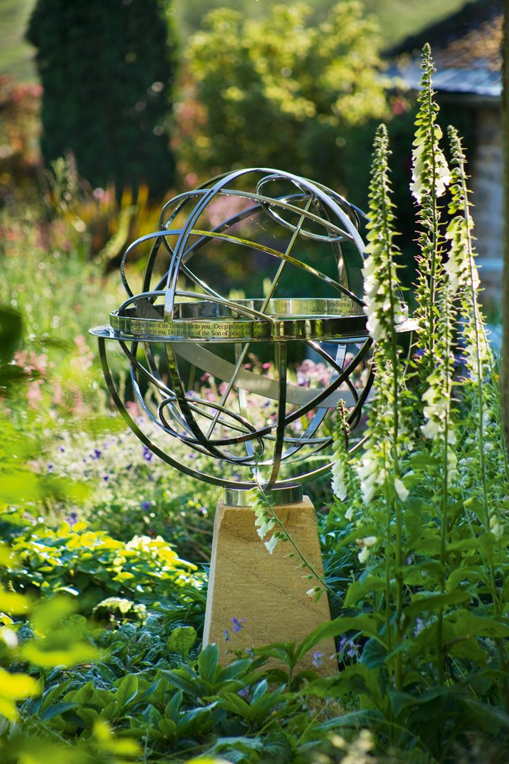 Sundial garden ornament - Garden Sculptures Find Lawn Ornaments Statues Sundials And Sphere Designs Online