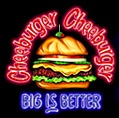 Cheeburger Cheeburger. Thanks @Becky Leatherman Adams. This looks awesome!