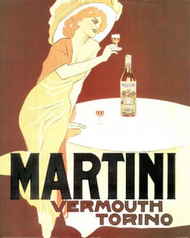 Martini Vermouth Torino Vintage Ad Art Print Poster Prints at AllPosters.com 16x20 $8.99
