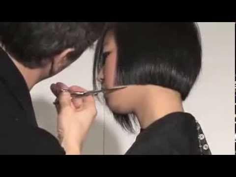 Modern Bob Hair Cut Demo - Professional Hairdressing Videos - Hairdressing Training Course