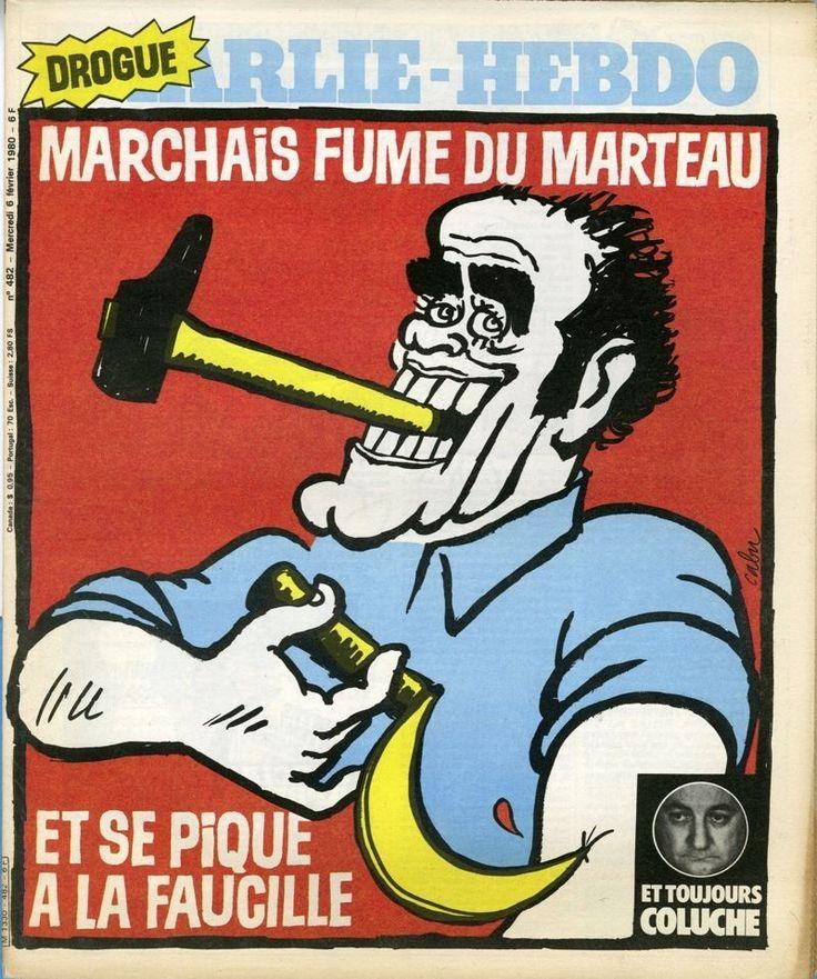 Charlie Hebdo - # 482 - 6 Février 1980 - Couverture : Cabu