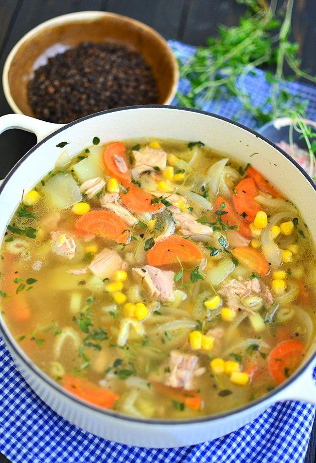 Zupa z tuńczykiem - MniamMniam.pl