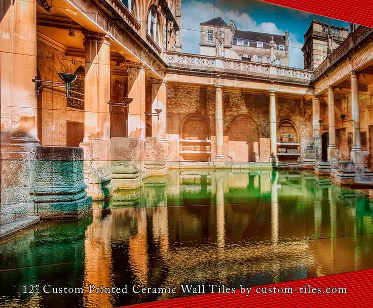 Custom Exterior Tile : Best outdoor tiles murals and pool images on