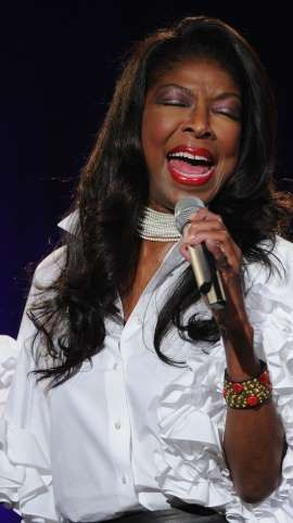 """Natalie Cole, legendary songstress, dead at 65. Wow, I love this lady. I played 'Good Morning Heartache"""" until everyone within our  cul-de-sac  wanted to kill me."""