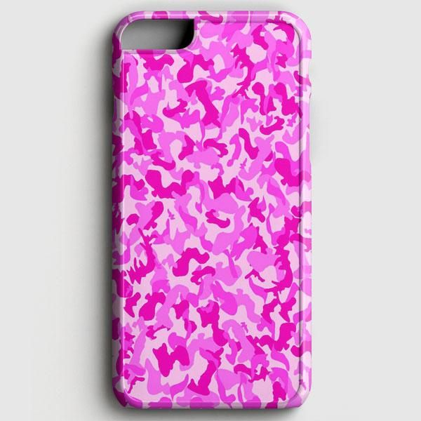 Pink Camouflage Pattern iPhone 6/6S Case | casescraft