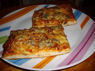 Megfőzlek...: Kelesztés nélküli pizzatészta