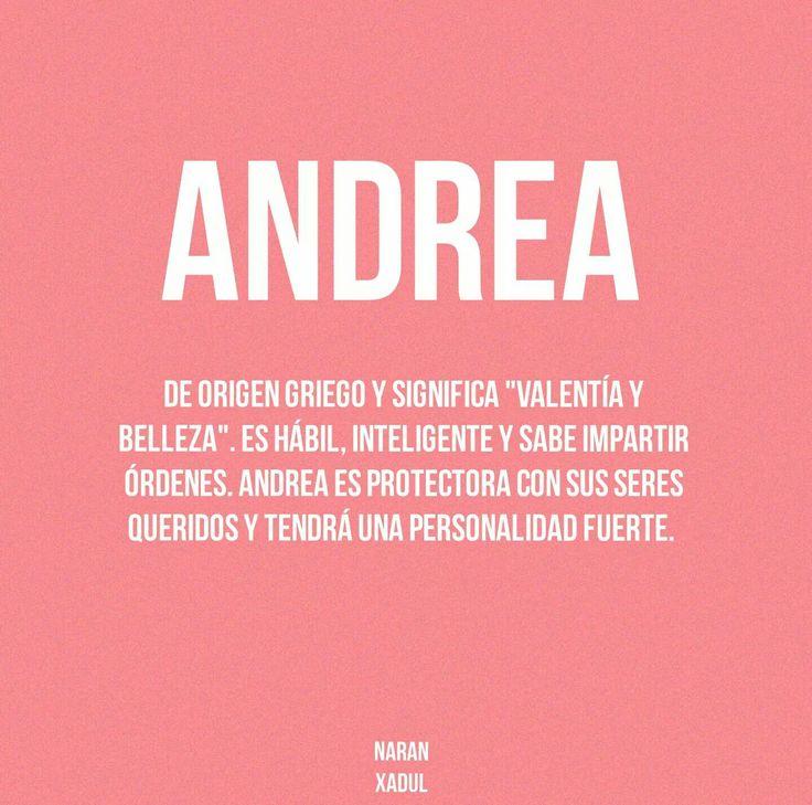 Andrea ❤
