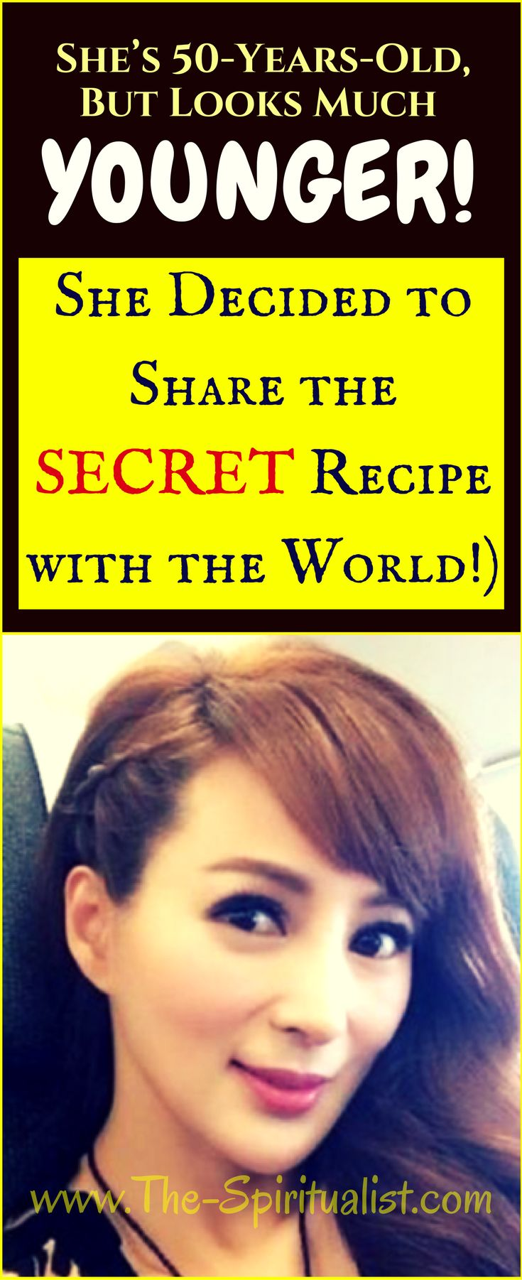 This Woman is 50-Years-Old, But Looks Much Younger (She Decided to Share the SECRET Recipe with the World!)