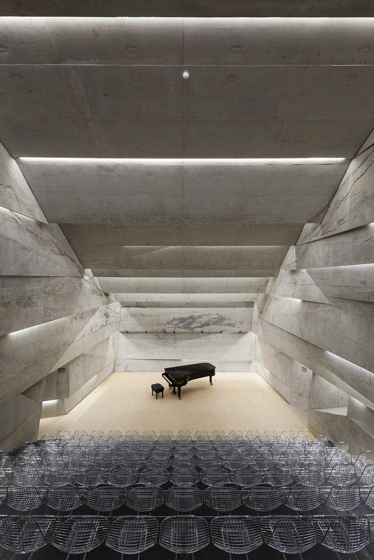 Подземный концертный зал немецкого города Блайбах