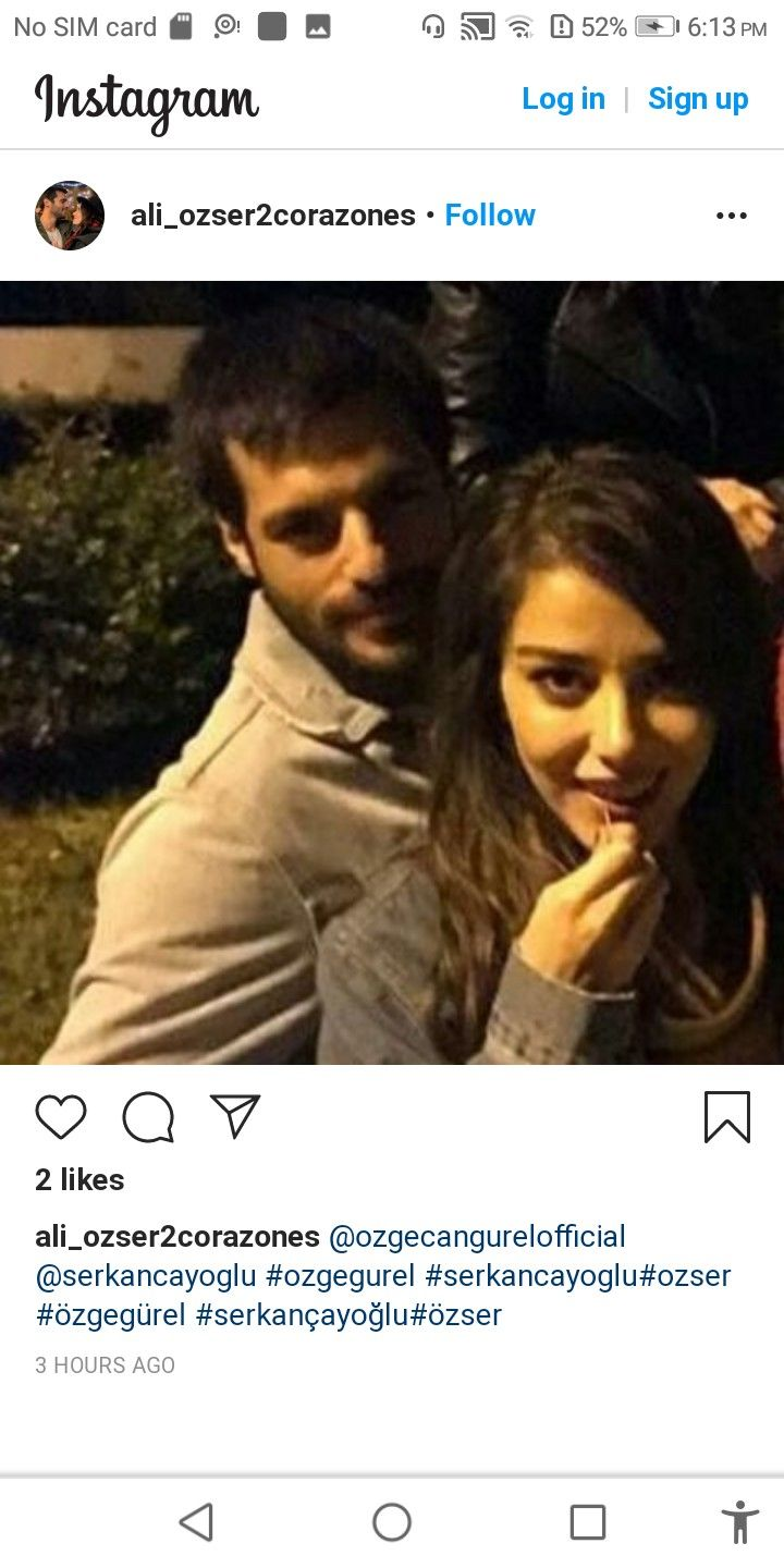 Pin By Serkan And Ozge On Ozser Instagram Photo Couple Photos