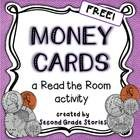 "Money Cards: This free set of 12 money cards can be used in a variety of ways.  I use them as a whole class ""Read the Room"" activity for a formativ..."