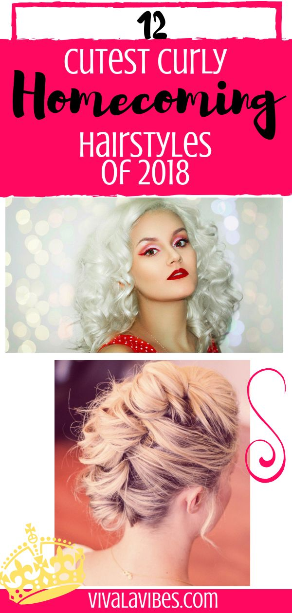 12 Cutest Curly Homecoming Hairstyles Of 2018 Naiyastүℓes