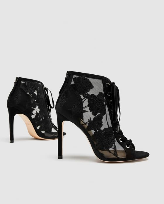 Zapato Style That Atado I BordadosHeels Like Tacón Chaussures OPkiXZu