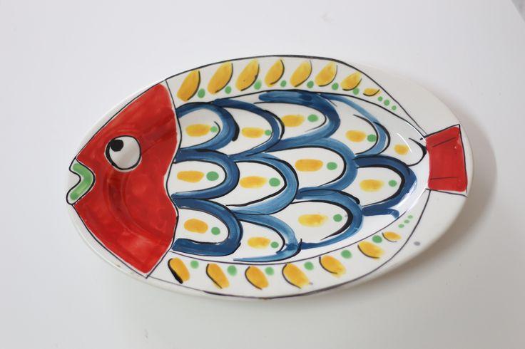piatto ovale - pesce