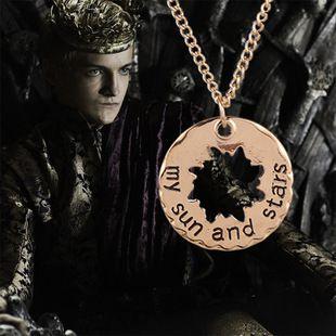 Его И Ее Хал/Khaleesi Игра Престолов Ожерелье Луны Моей Жизни, мое Солнце И Звезды Подвески Колье Для Женщин 8100