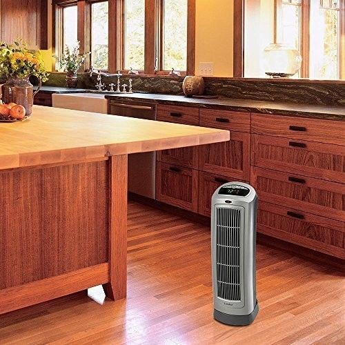 Portable Electric Heater 1500W Ceramic Remote Programmable Thermostat Stove  #easy_shopping08