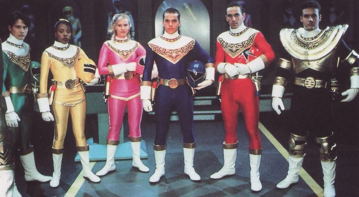 Mighty Morphin Power Rangers Characters | When I want to watch Power Rangers, I sometimes pick Zeo. That might ...