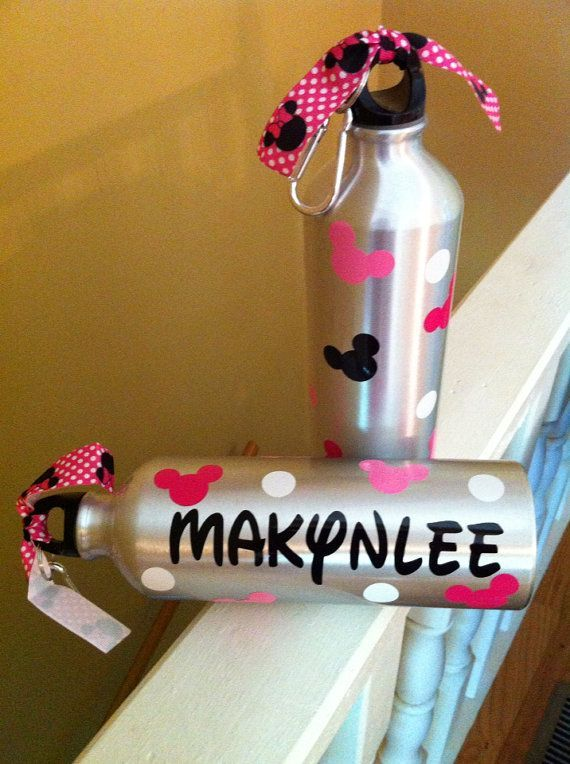 Personalized Disney Water Bottle