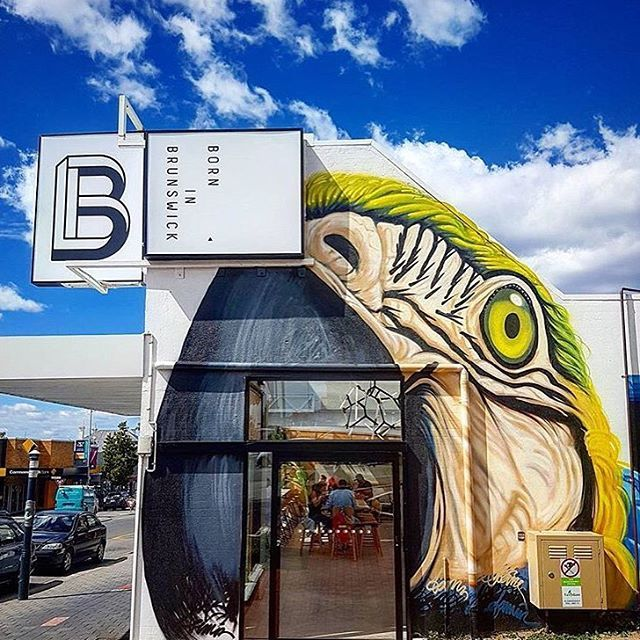 It's all good here. Amazing coffee & food. Ready for brunch? Let's get this weekend started 🎉 📷 @afernand0  #weekend #brunch #yas #borninbrunswick #hobart #cafe #macaw #streetart #graf #graffitiart #graffporn #foodie #potd #agfg #foodstagram #saturday #breakfast #hobartfood #discovertasmania #hobartandbeyond #qantasinsider #broadsheetmelbourne #tassiestyle #editas #tasmaniagram #hobarteats #brunchlife