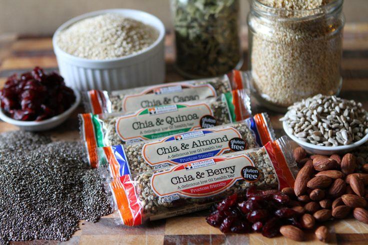 Kuranda Chia & Quinoa Health Bars - Vegan & Fructose Friendly.  Also 100% Gluten Free, Wheat Free, Dairy Free and Low GI - Aussie Health Snax Pty Ltd, Specialty Food, Baulkham Hills, NSW, 2153 - TrueLocal