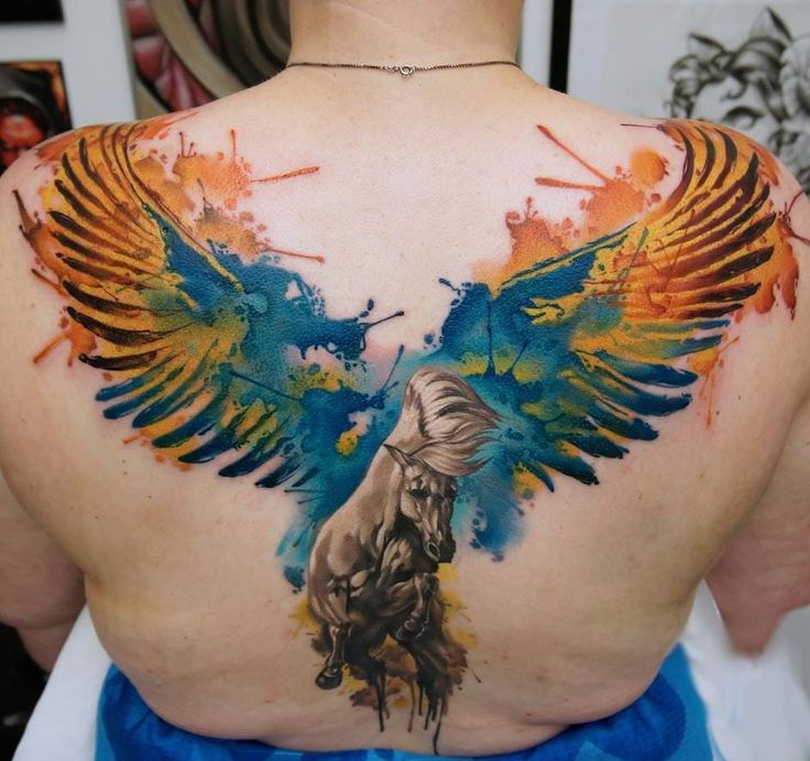Pegasus Tattoo: Best 25+ Pegasus Tattoo Ideas On Pinterest
