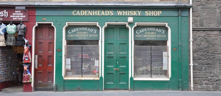 Cadenhead's Whisky Shop copyright morebyless CC via Flickr