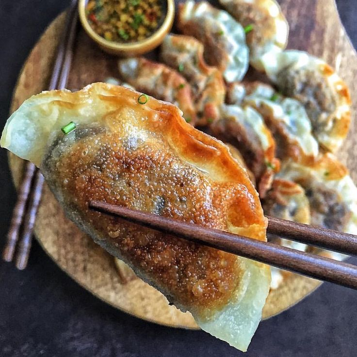 """4,521 Likes, 72 Comments - Sarah Phillips (@food) on Instagram: """"Miso roasted eggplant gyoza from @cravingsinamsterdam via @beautifulcuisines. Check out my…"""""""