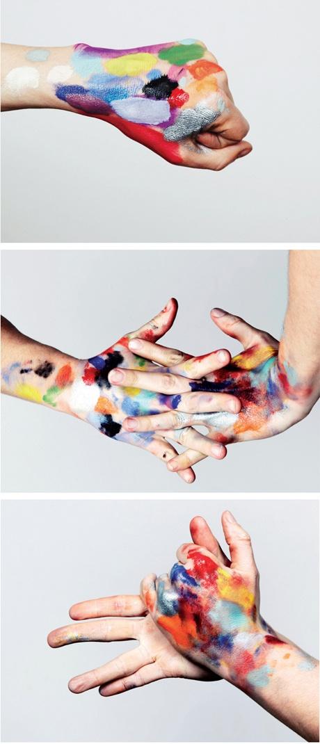 Artist hands by http://www.gregoirealexandre.com/