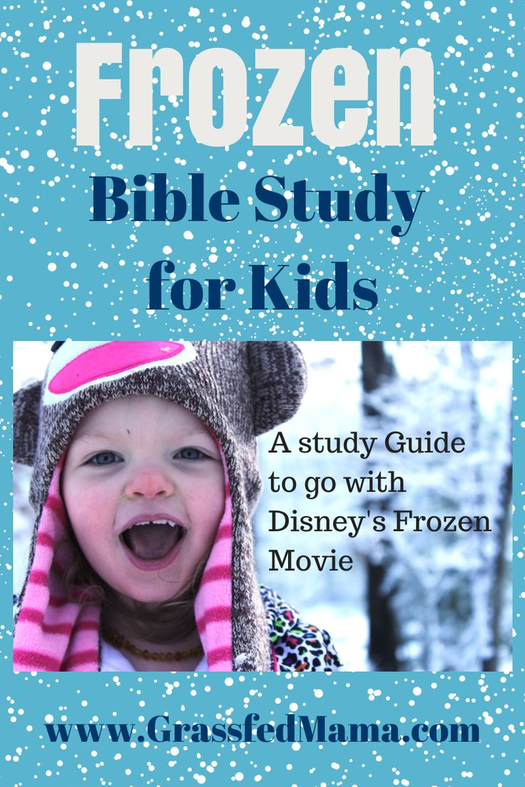 Teachable Moments: Frozen Bible Study. This is awesome; this movie is so popular with kids, this bible study would be great for any parent trying to teach little ones.