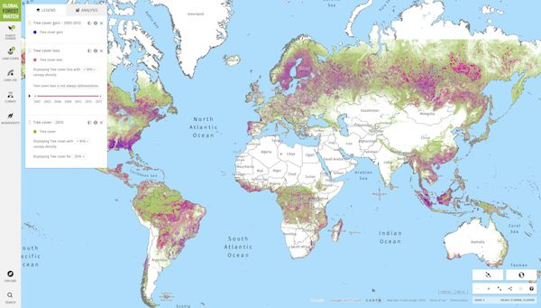 In 2020, it lost 25.8mha of tree cover. Global Forest Watch Offers The Latest Data Technology And Tools That Empower People Everywhere To Better Protect Forests Map Forest Map Forest
