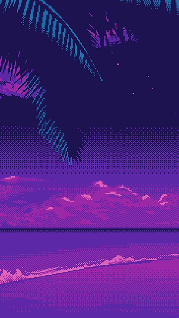 Pixel Pixelart Overlay Tumblr Aesthetic Vapor - Gonzagasports