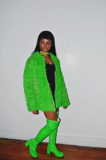 #BBHMM Rihanna Costume