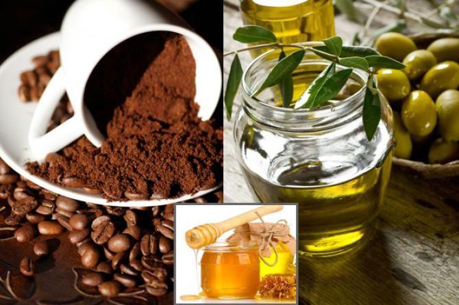 Zeytinyağı Kahve ve Bal Maskesi