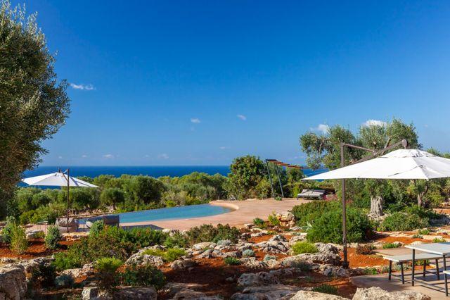 Amazing sea view Villa Camilla Puglia Modern architecture Italian place Puglia guide Italian Pool award 2018