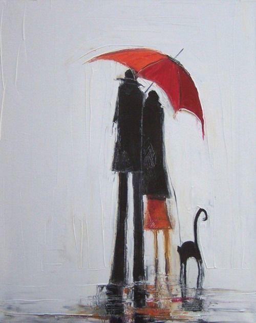 Inception | красный зонтик | Постила