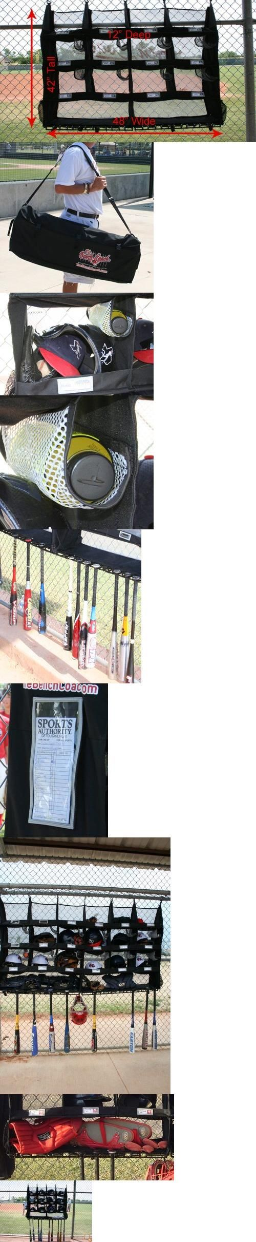The Benchcoach R12 Baseball Softball Dugout Organizer Player Coach Gear Station, The most complete, portable dugout organizing system for baseball and softball teams. The BenchCoach is a team-centered system that gives your dugout the same look, feel and organization of a major l..., #Sporting Goods, #Gear Bags