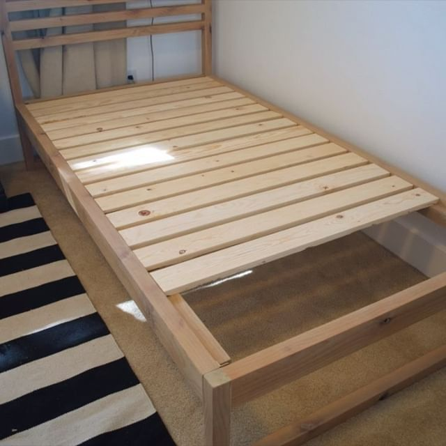 Diy Modern Twin Bed Frame Free Plans Full Do It Yourself Tutorial