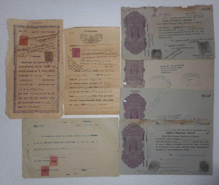 India Pudukottai State Stamp On Hindi Promissory Note st2 - promissory note format india