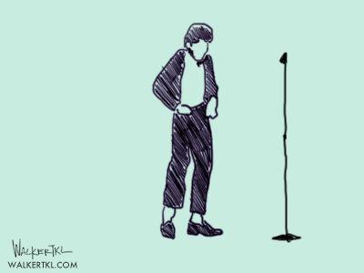 Walker Kampf-Lassin Illustration