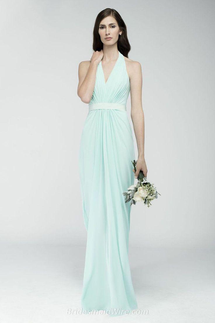 40 best bridesmaid dresses images on pinterest bridal dresses new style mint zipper a line floor length bridesmaid dresses ombrellifo Choice Image