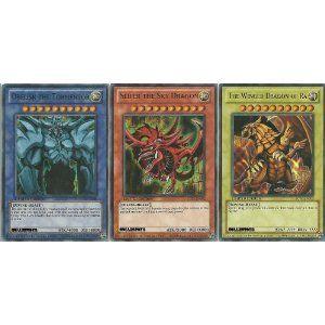 YuGiOh Legendary Collection Ultra Rare God Card Set of 3 Egyptian God Cards Slifer, Obelisk Ra (LIMITED EDITION) ULTRA RAR... $5.80