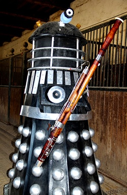 Bassoon Blog from Double Reed Ltd.: Can a Dalek play a bassoon?