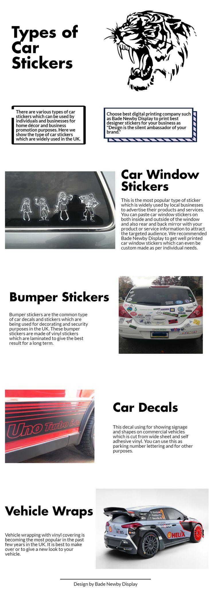 The  Best Custom Window Stickers Ideas On Pinterest Custom - Window stickers for cars uk