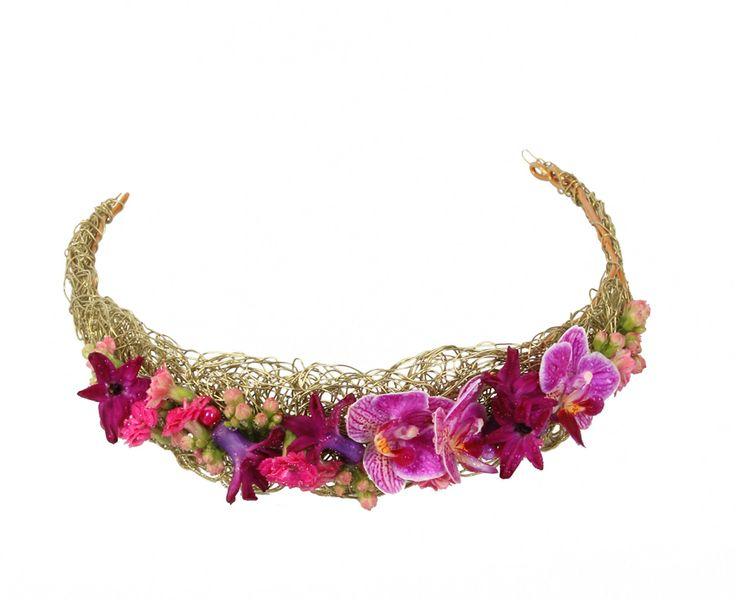 Corona de flores Princess | Bourguignon Floristas