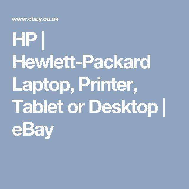 HP | Hewlett-Packard Laptop, Printer, Tablet or Desktop | eBay
