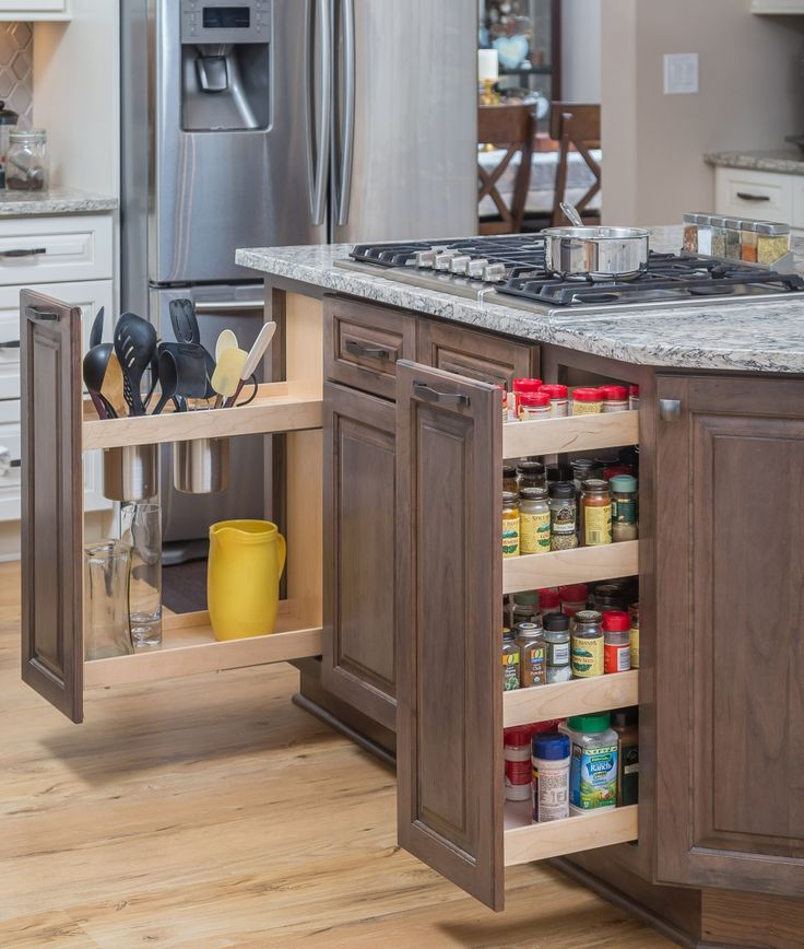 die besten 25 herausziehbares gew rzregal ideen auf pinterest ideen f r die k che. Black Bedroom Furniture Sets. Home Design Ideas