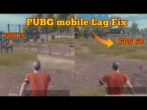 How to Fix Pubg mobile Lag 0 10 0 | FPS 15 To FPS 60 | Fix Lag In