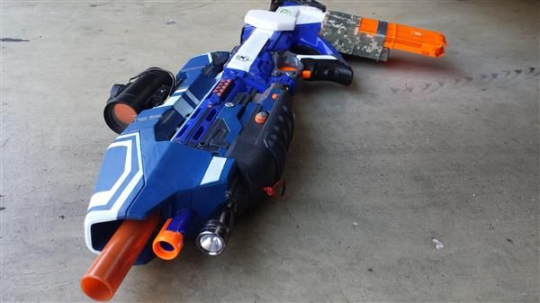 3ders.org - Hacker mods Nerf gun into an awesome 3D printed Halo 5 MA5D assault rifle | 3D Printer News & 3D Printing News
